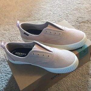 NWT Sperry Top Siders in Light Pink